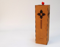 Promotional Device || Wine Box Lamp