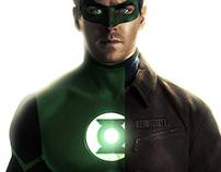 Armie Hammer as Hal Jordan aka green lantern