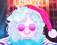 Christmas Collective Show - Animated poster design
