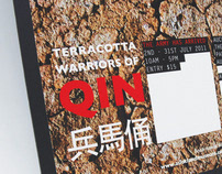 'Terracotta Warriors' - Poster and Brochure Design