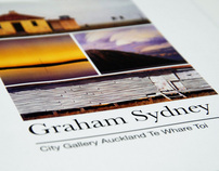 Graham Sydney || Catalogue Design