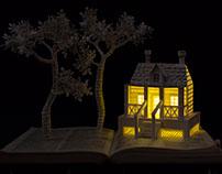 """""""Little Moments"""" Book Art"""