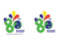 Branding: Boys Brigade 80th Anniversary Logo
