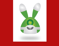 Alien Easter Bunny Wallpaper Collection