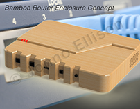 Bamboo Router Enclosure Concept