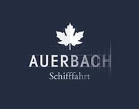 Auerbach Schifffahrt – Branding