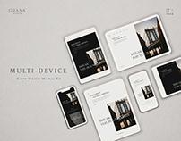 Multi-Devices Scene Creator Mockup