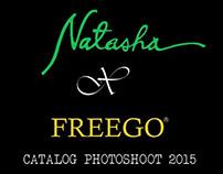 Natasha X Freego Catalog Photoshoot 2015 BTS