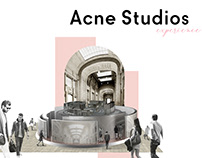 acne studios experience / thesis