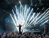 Marilyn Manson at Grönalund in Sweden 2015