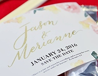 Jason & Merianne Save-the-Date Card