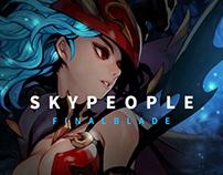 SKY PEOPLE WebSite