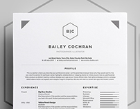 Resume/CV - 'Bailey'