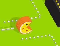 Dominos Pacman