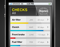 Haynes Maintenance iPhone App
