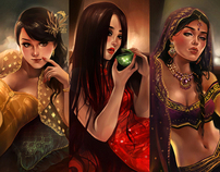 The Three Beauties