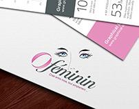 Au féminin | Logo