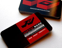 JNashDesign Business Cards