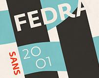 Fedra Type Posters