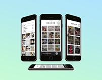 Bounce - Mobile App UX/UI Design