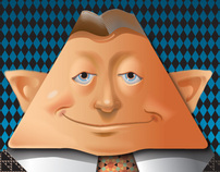 vector Pyramid Schemer...character design teaching demo