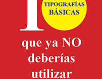 Typographic catalog.