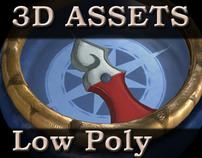 3D Assets Low Poly
