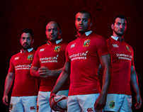 "Lions Tour ""Make Them See Red"" Campaign - Canterbury"