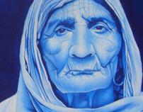 blue granny