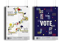 Get Out The Vote AIGA Posters