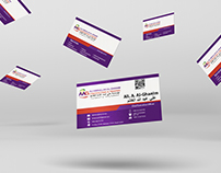 Business Card for AAG