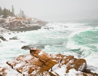 WINTER IN ACADIA