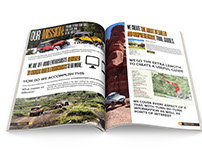 Media Kit Design for Off-Road and Outdoors Website
