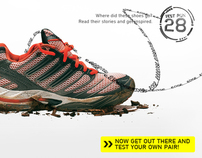 adidas Test Run – Promotional Site