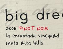 Big Dreamer- Wine Label
