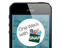 One Week with SNAP App (Spring 2015)