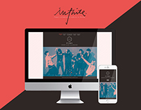 Infinite Fanart Collaboration website / Arôme