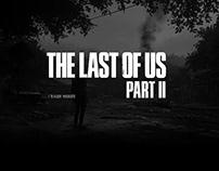 WEB DESIGN / Teaser website The Last Of US Part II