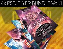 Party Flyer Bundle Vol.1 -PSD-