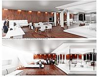 Minimalist Style Hub Office