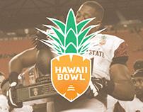Hawaii Bowl Logo Concept