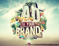 AD to your brand Slogan 3