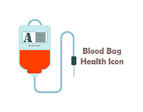 blood bag Health Icon