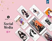 Tania Hyman´s Models & Talents | Social Media