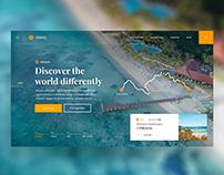 ✈️🏝️ Travel Guide — Website Concept