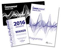 Communiqué 2016 I Graphic design