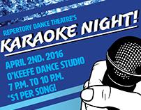 RDT Karaoke Night flyer