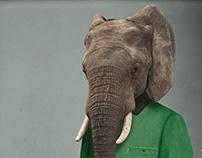 Elegant Elephant I (Babar)