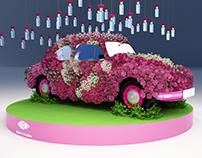 Mall of Arabia Spring theme decoration