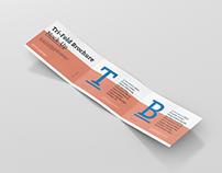 Tri-Fold Brochure Mockup - Din A4 A5 A6 Landscape